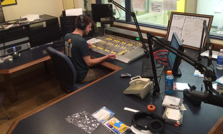 WRUR's FM Studio