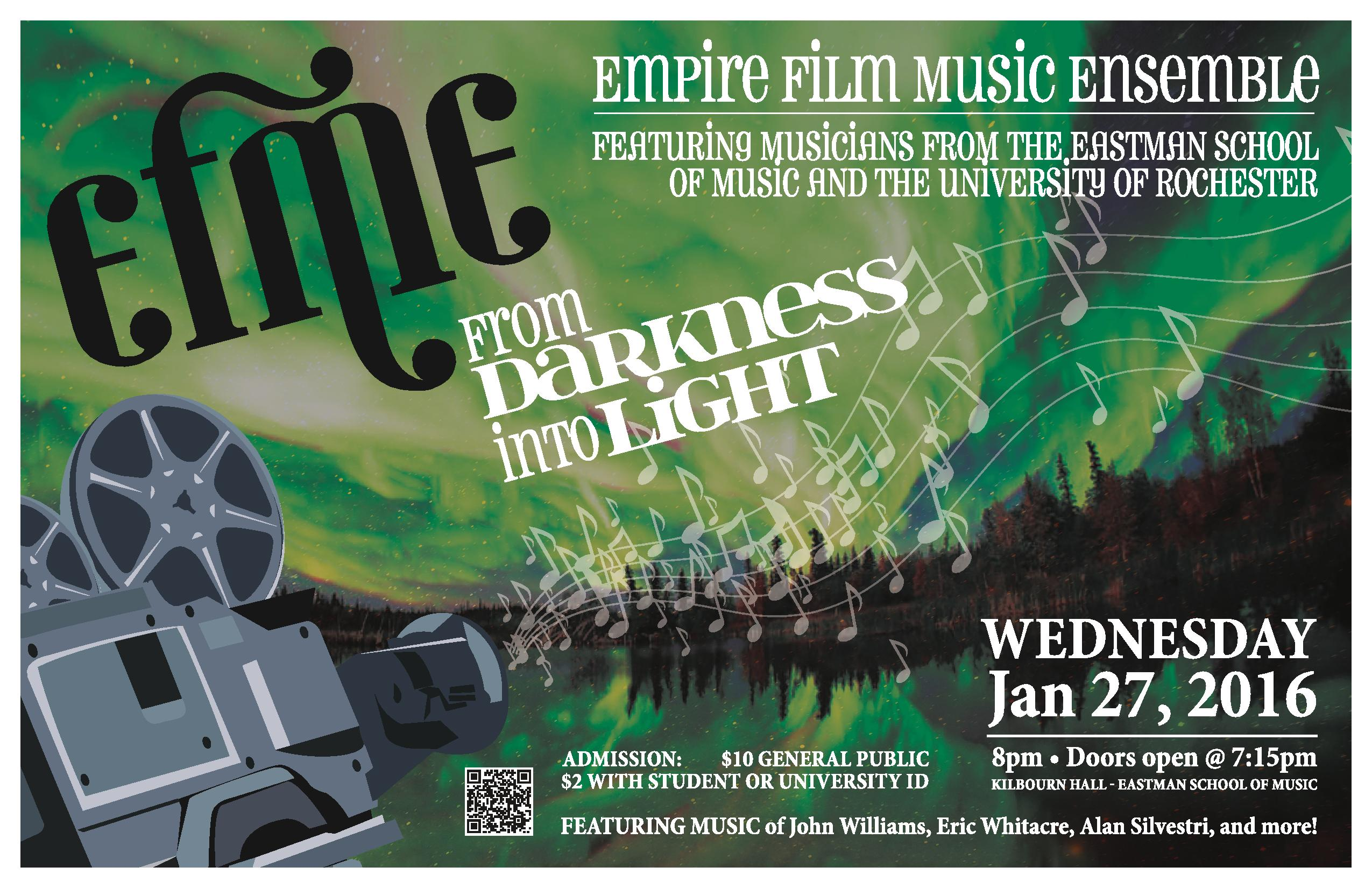 Empire Film Music Ensemble at Eastman