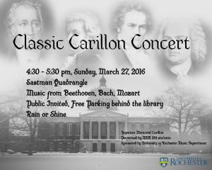 Classic Carillon Concert Poster